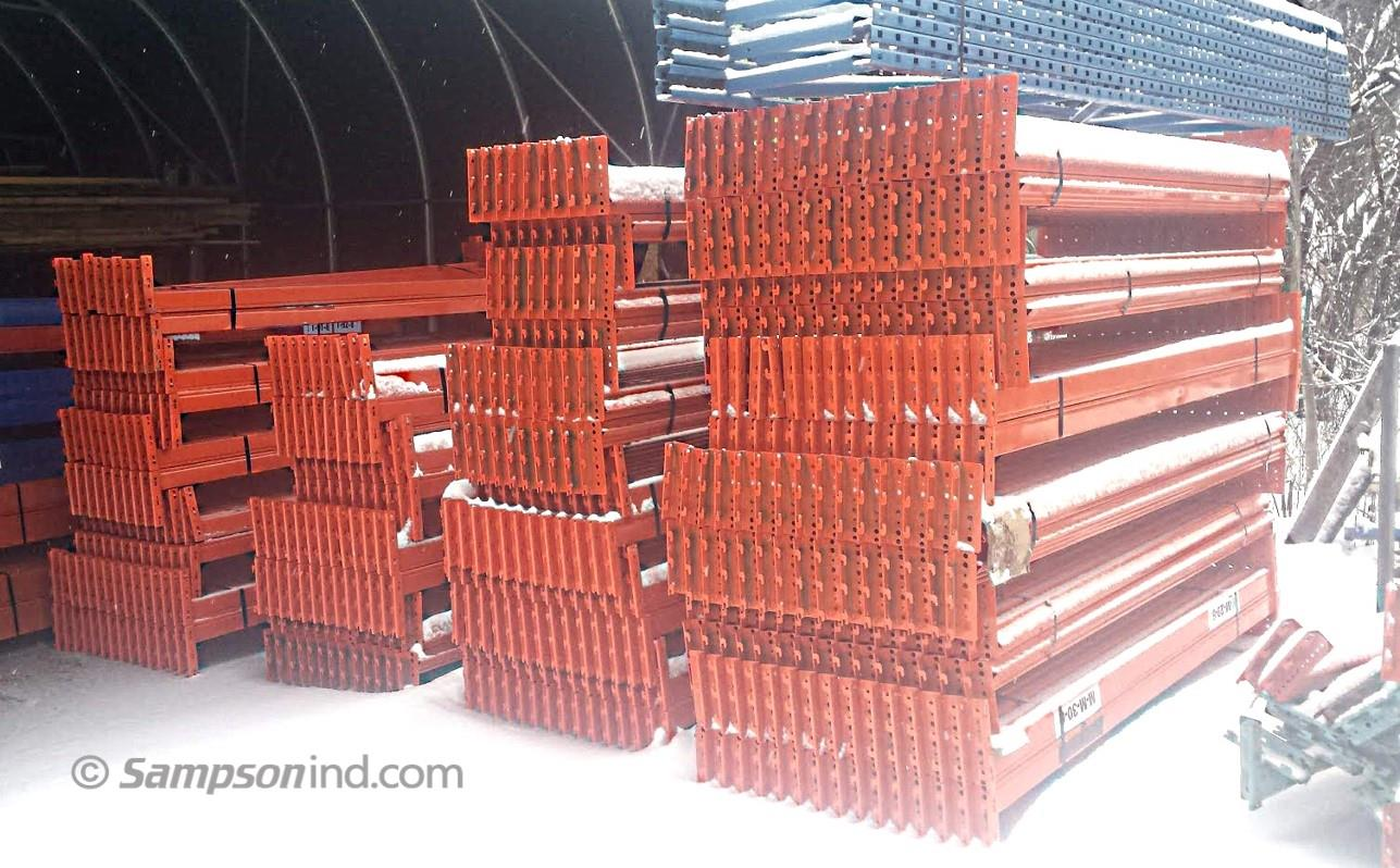 Redirack Beams - A new shipment of used pallet racking just arrived and soon to be sold